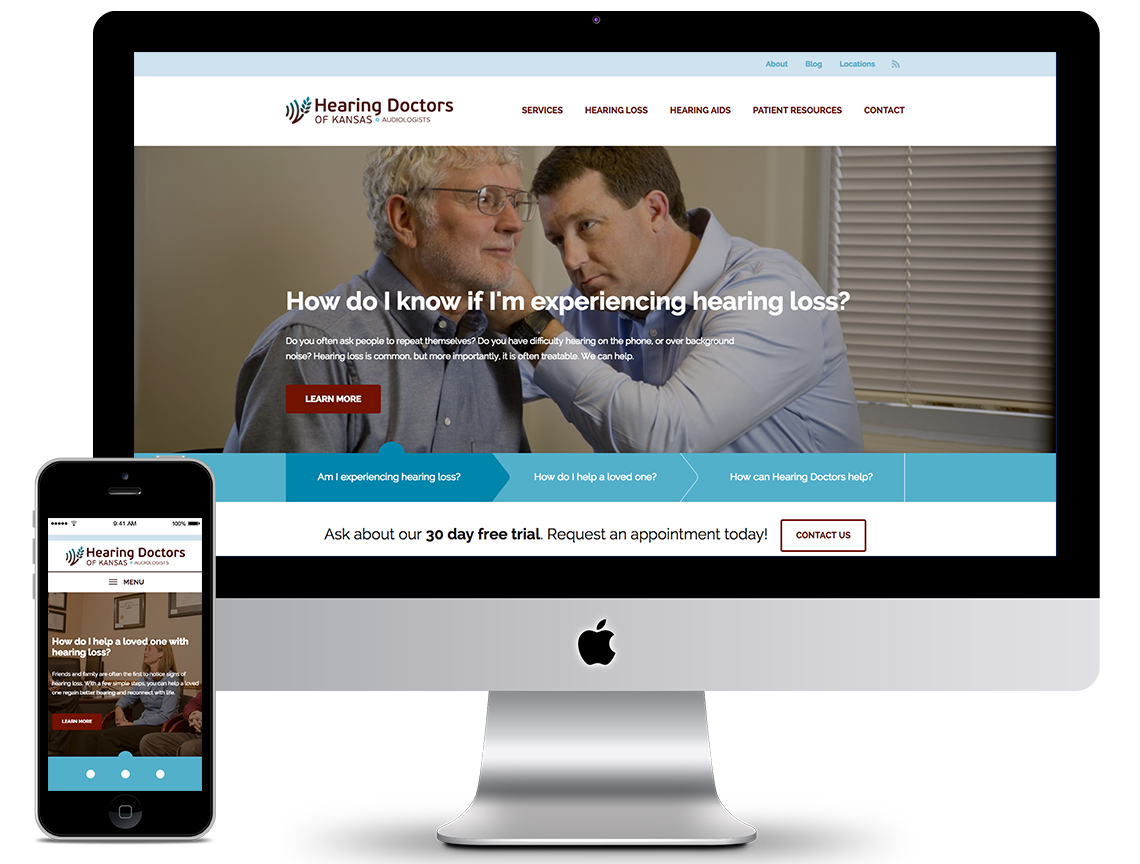 Hearing Doctors Marketing Portfolio 1