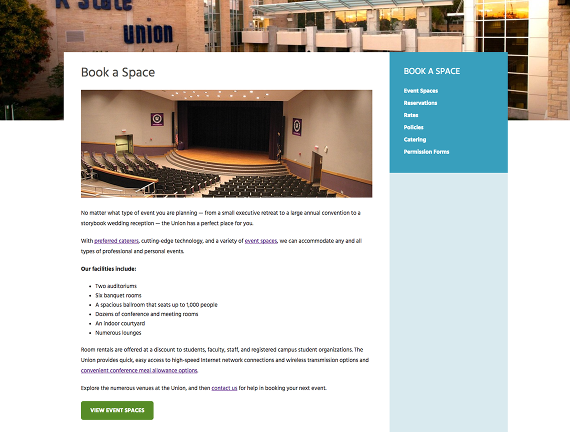 K-State Union Marketing Portfolio 2