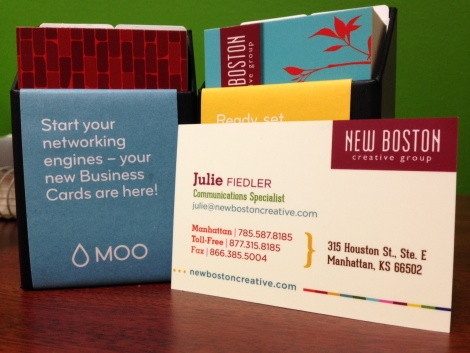 I Love The Smell Of Business Cards In The Morning Manhattan Ks