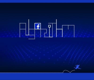 Facebook algorithm icon