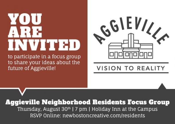 Focus Group Postcard Invite