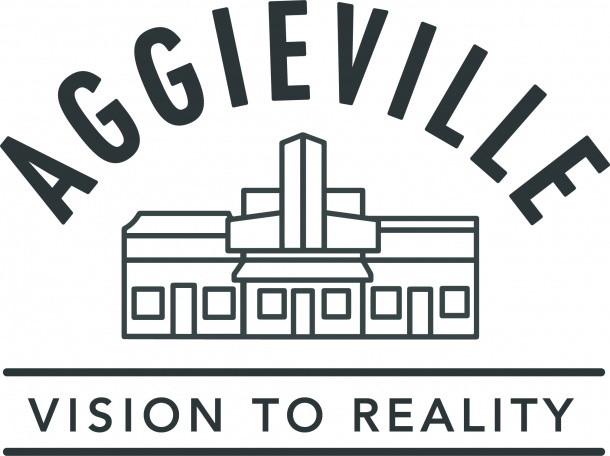 Aggieville Vision to Reality Logo
