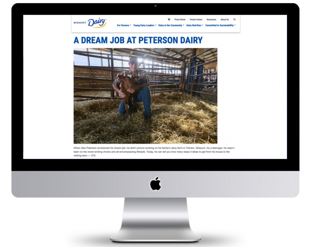Midwest Dairy Website