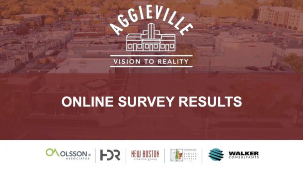 Aggieville Online Survey Results