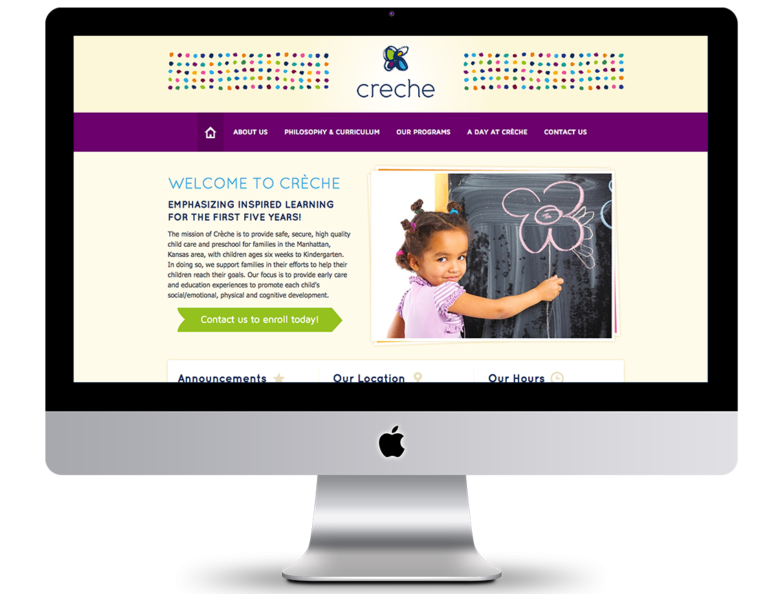 Creche Marketing Portfolio 1