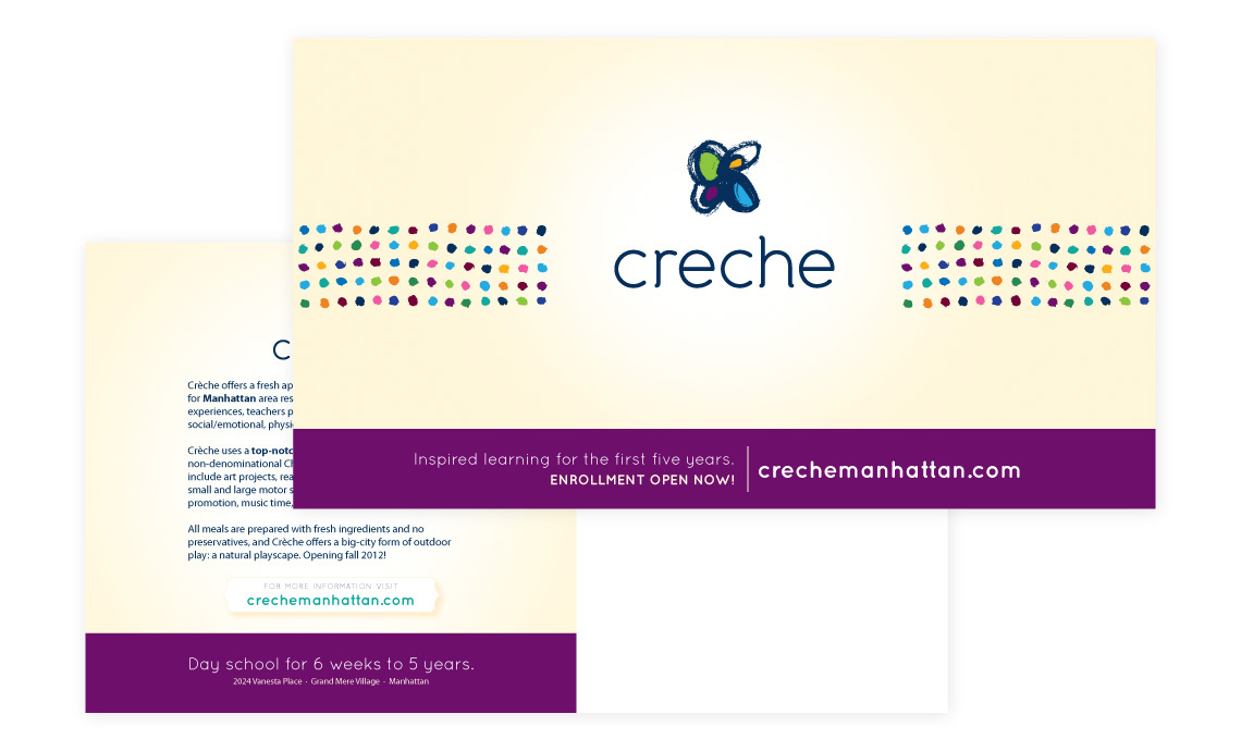 Creche Marketing Portfolio 4