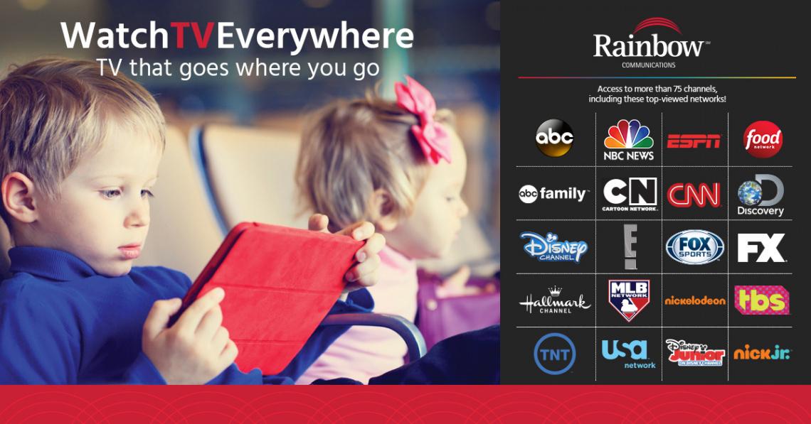 Rainbow Communications Marketing Portfolio 3
