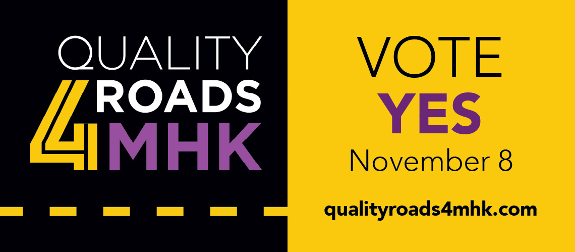 Quality Roads for MHK Billboard