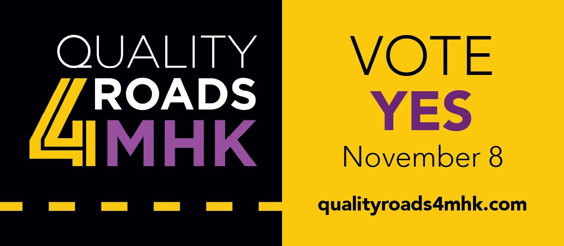 Quality Roads for MHK Billboard
